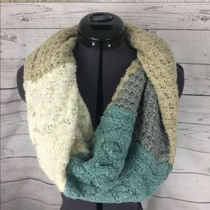 Anthro Curio wool blend infinity scarf